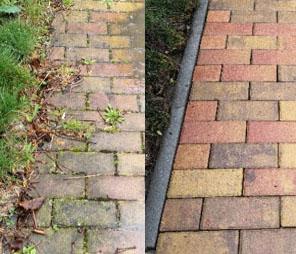 chodník 2 před a po