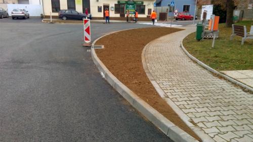 Oprava křižovatky
